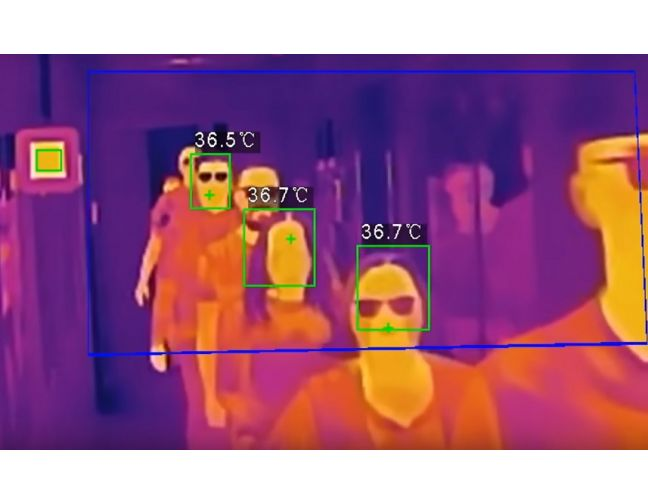 THERMAL BODY TEMPERATURE MEASURING CAMERA